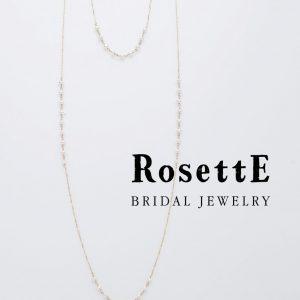RosettEファッションのロングネックレス