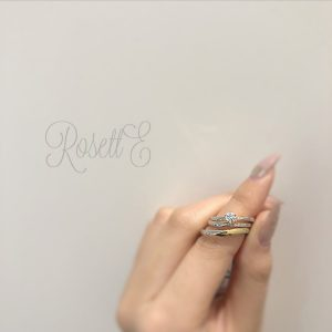 RosettEの指輪の装着イメージ1