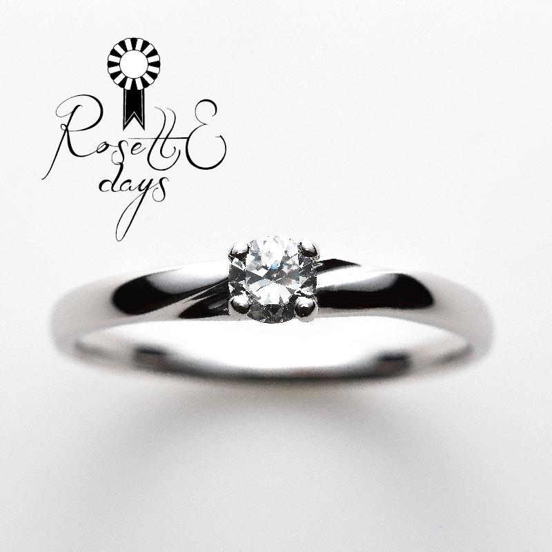 RosetteDaysロゼットデイズの婚約指輪でカモミール